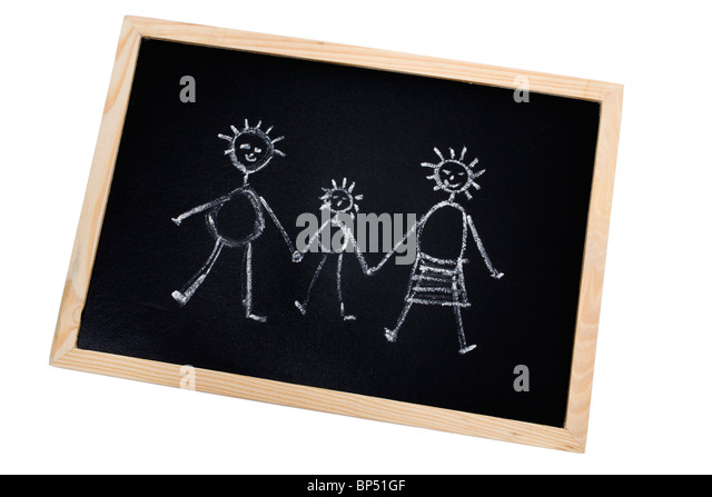 Chalkboard Family Stock Photos Amp Chalkboard Family Stock