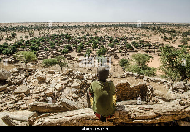 Dogon country, Mali - Stock Image
