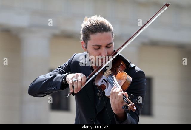 Berlin, Germany, David Garrett, Violinist - Stock Image