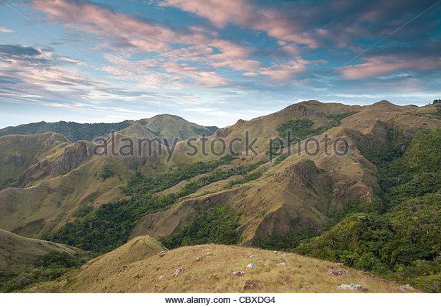 Beautiful landscapes in Altos de Campana national park, Panama province, Republic of Panama. - Stock-Bilder