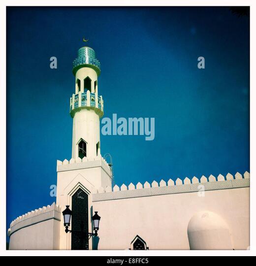 Oman, Minaret - Stock Image