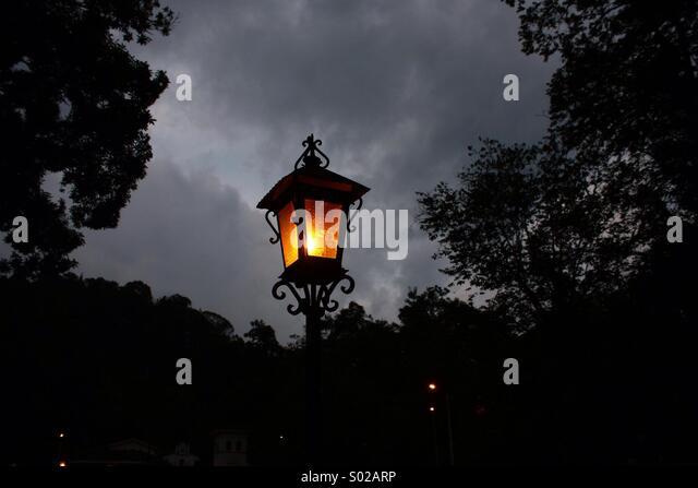 Popayán Light's: 'farol' - Stock Image