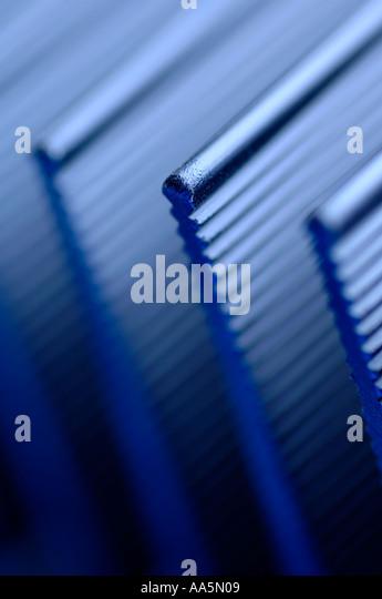 Amplifier heat shield - Stock Image