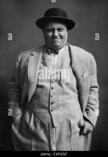 Emil Jannings in the movie 'All for money', 1923 - Stock-Bilder