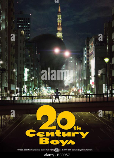 20-seiki shônen Twentieth Century Boys Year : 2008 Director :  Yukihiko Tsutsumi Movie poster - Stock Image