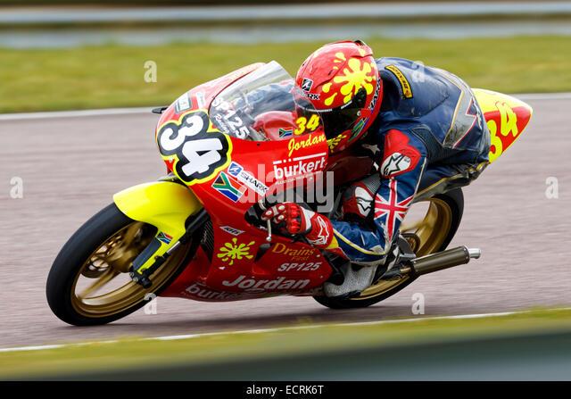 Jordan Weaving, SP125/Jordan Racing, Honda 125. - Stock Image