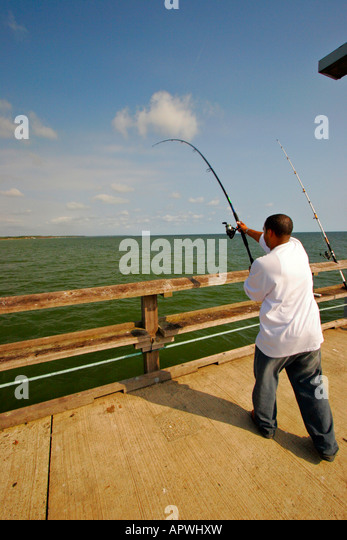 Fishing peir stock photos fishing peir stock images alamy for Point lookout fishing pier