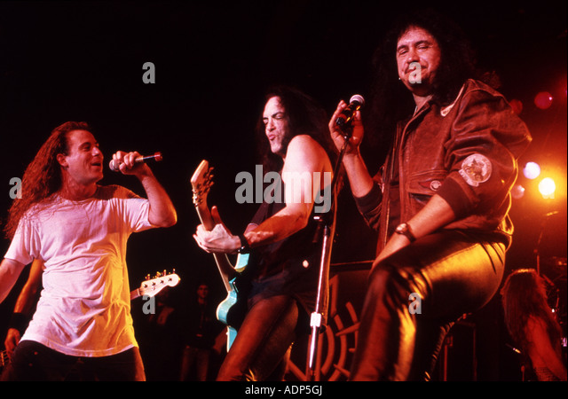 ANTHRAX - US rock group about 1989 - Stock Image