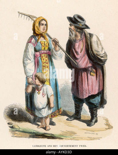 Racial Russia Kalinin - Stock Image