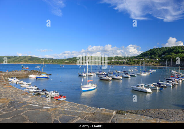 Newquay Ceredigion Wales - Stock Image