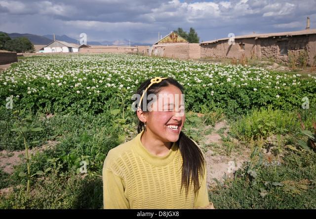 Kashka Suu, Kyrgyzstan - Stock-Bilder