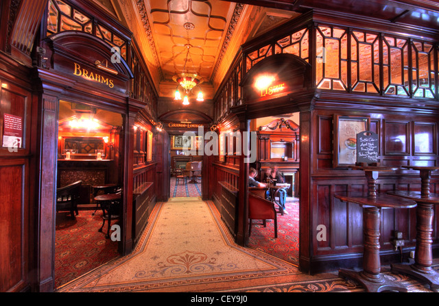 The Famous Phllharmonic Pub, in Hope Street Liverpool - Stock Image