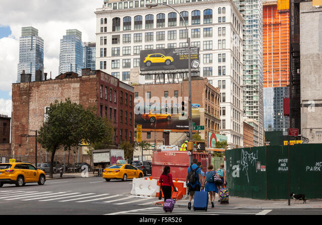 Hells Kitchen New York Stock Photos Amp Hells Kitchen New