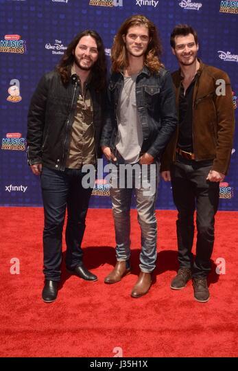 Levon at arrivals for Radio Disney Music Awards - ARRIVALS, Microsoft Theater, Los Angeles, CA April 29, 2017. Photo - Stock-Bilder