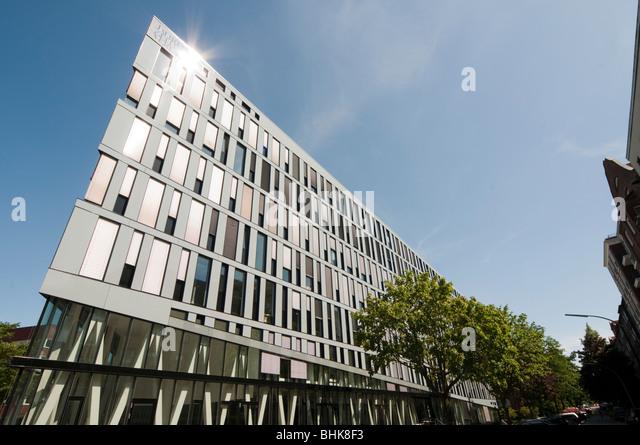 modern office building, Winterhude, Hamburg, Germany - Stock-Bilder