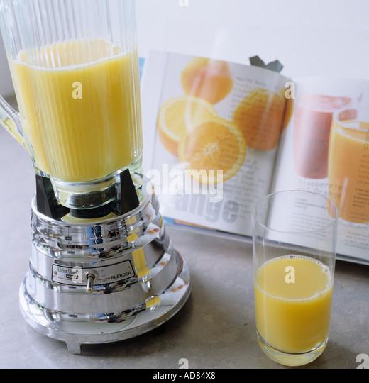 Making juice - Stock Image