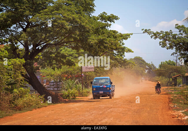 Cambodian everyday life - Stock-Bilder