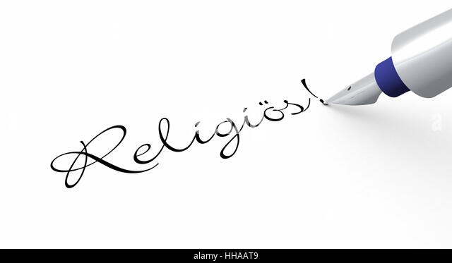 Stift Konzept - Religiös! - Stock-Bilder
