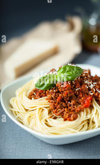 spagetti bolognese stock photos spagetti bolognese stock images alamy. Black Bedroom Furniture Sets. Home Design Ideas