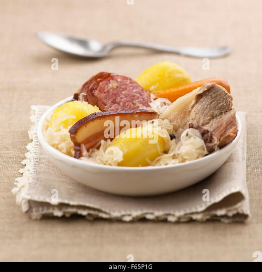 sauerkraut - Stock Image