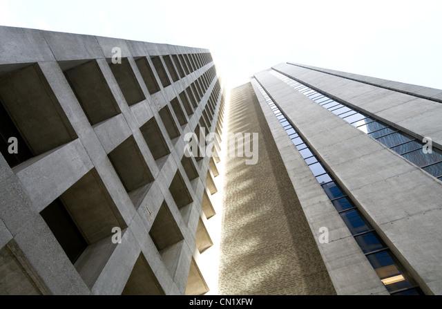 Skyscrapers, Vancouver, British Columbia, Canada - Stock Image