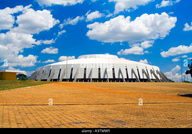 Nilson Nelson Stadium Gymnasium - Stock Image