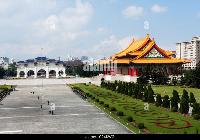 National Concert Hall, Liberty Square, Taipei, Taiwan - Stock Image