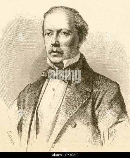Giorgio Ronconi, 1810 - 1890. Italian operatic baritone and actor. - Stock-Bilder