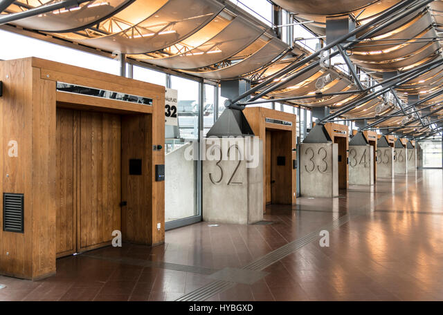 Nils Ericson Bus Terminal, Gothenburg - Stock Image