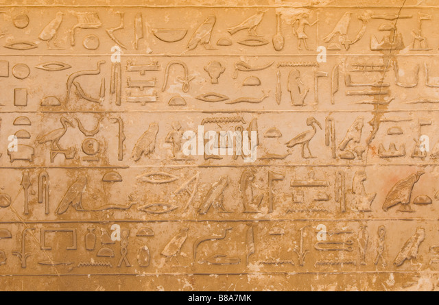how to write ancient egypt in hieroglyphics