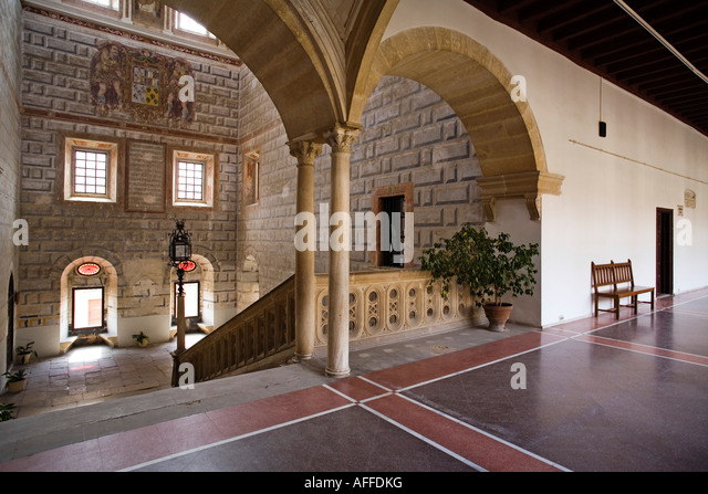 inside of the hospital of Santiago ubeda patrimony of the humanity jaen Andalusia Spain - Stock Image