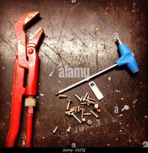 Mechanic table - Stock-Bilder