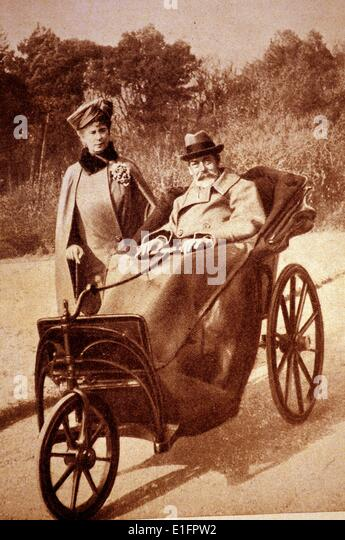 King George V and  Queen Mary - Stock Image