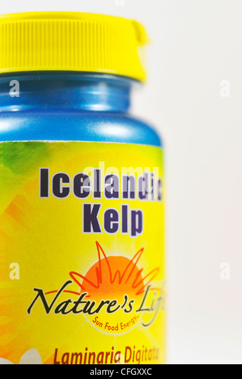 how to take kelp supplements