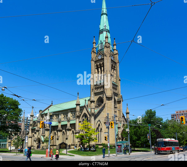 St James Cathedral, Toronto, Ontario, Canada - Stock Image