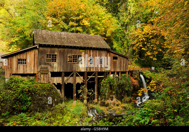 Cedar creek grist mill stock photos cedar creek grist for The cedar mill