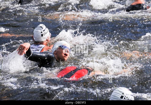 how to start swimming for triathlon