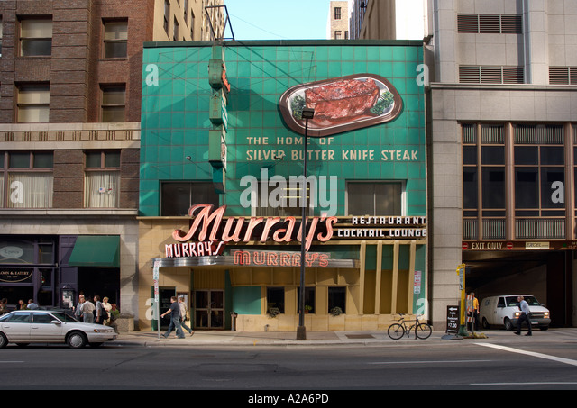 murrary's steak house minneapolis town centre - Stock Image