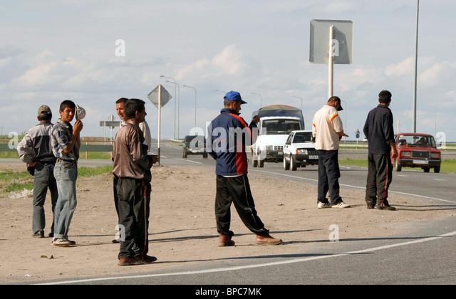 Guest workers - Stock-Bilder