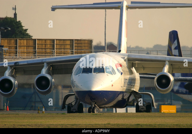 British Airways regional plane - Stock Image