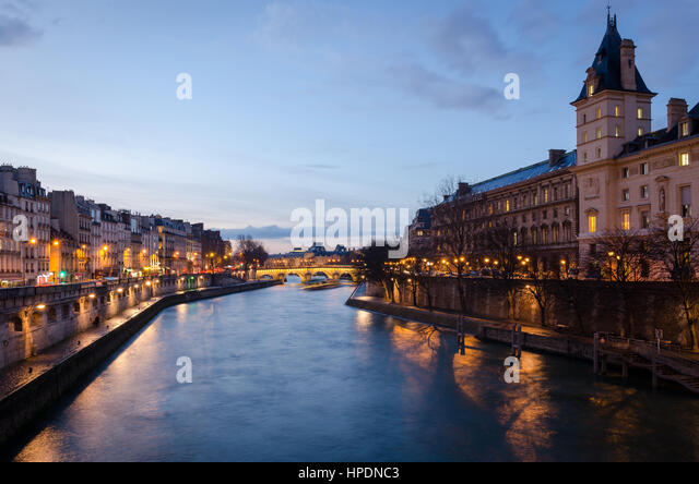 the new seine river stock photos the new seine river stock images alamy. Black Bedroom Furniture Sets. Home Design Ideas