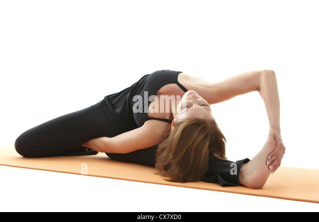 Yoga Asana - Stock Image