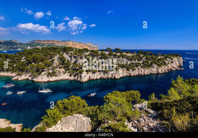 Calanques de cassis national park stock photos calanques for Bouch du rhone