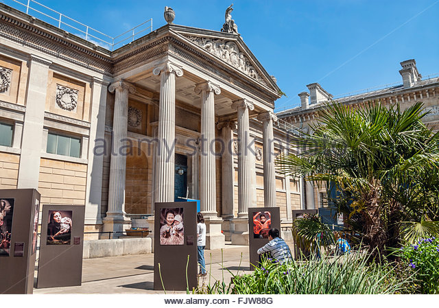 Ashmolean Museum of Art & Archeology in Oxford, Oxfordshire, England - Stock Image