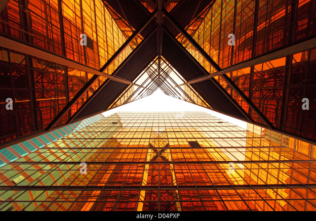 Office windows background - Stock Image