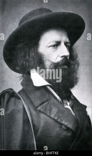 alferd lord tennyson Arms of tennyson: gules, a bend nebuly or thereon a chaplet vert between three leopard's faces jessant-de-lys of the second alfred tennyson, 1st baron tennyson , frs (6 august 1809 – 6 october 1892) was poet laureate of great britain and ireland during much of queen victoria 's reign and remains one of the most popular british.