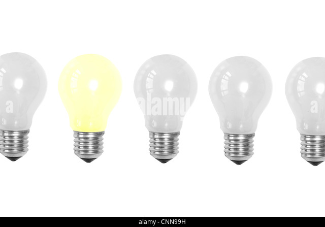 Conceptual image of ideas - Stock Image