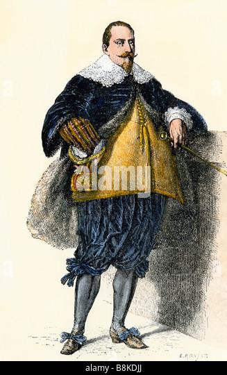 King of Sweden Gustavus Adolphus - Stock Image