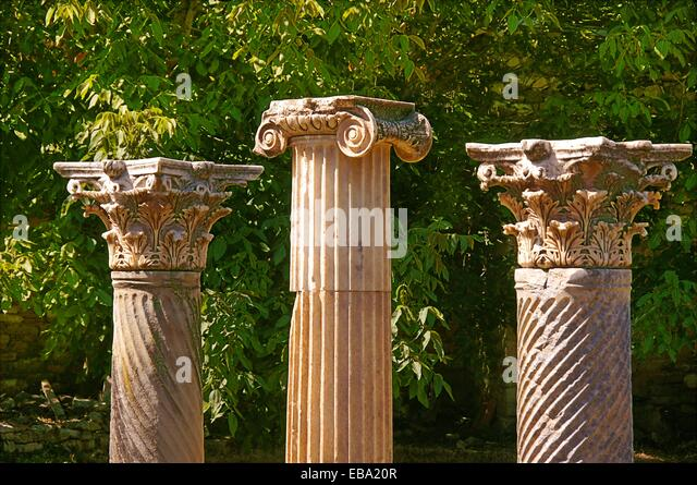 100 140 230 62 according after antiquity Aphrodisias Aphrodite archaeology Architectural detail architecture Asia - Stock Image