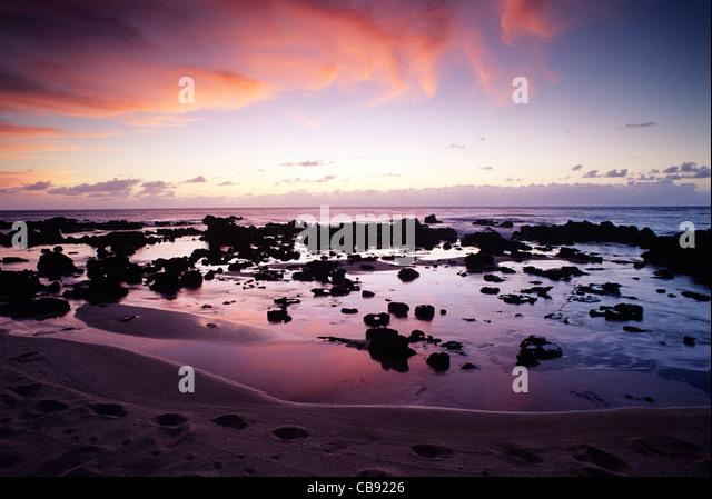 Kaupoa Beach Molokai Island Hawaii